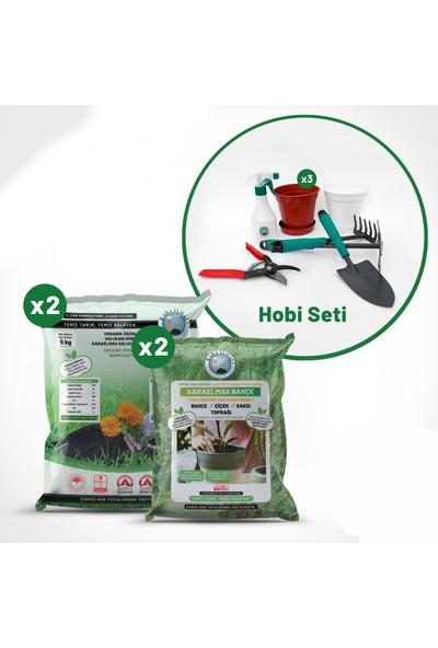 Kara Elmas Organik Tarım Bahçe Hobi Seti
