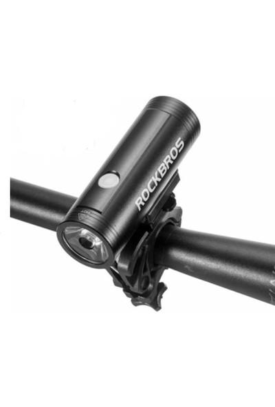 Rockbros 8000 Lumen Su Geçirmez Ultra Güçlü 4000mah Led Bisiklet Farı Fener