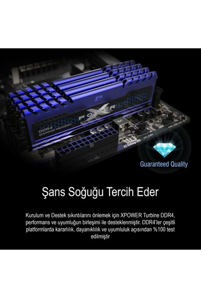 Xpower Turbine 16GB 3200MHz DDR4 Ram SP016GXLZU320BSA