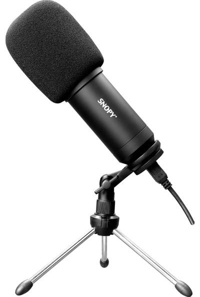 Snopy SN-04P Siyah Çok Amaçlı Profesyonel Masaüstü Mikrofon Kiti