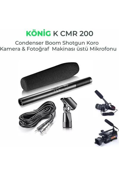 König K-CMR200 Kamera & Fotograf Makinesi Üstü Mikrofonu