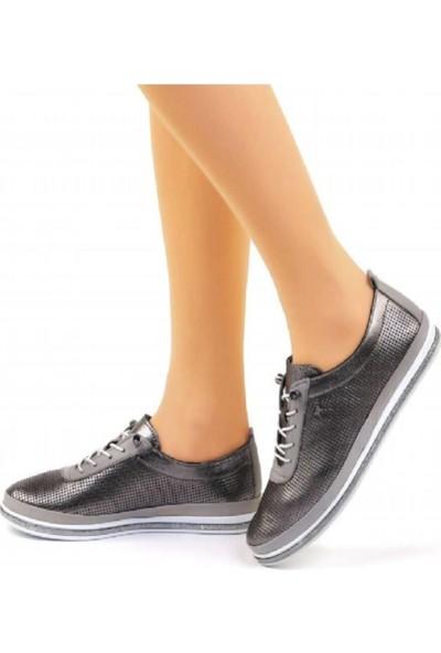 Voyager 7876 Deri Bayan Ayakkabı
