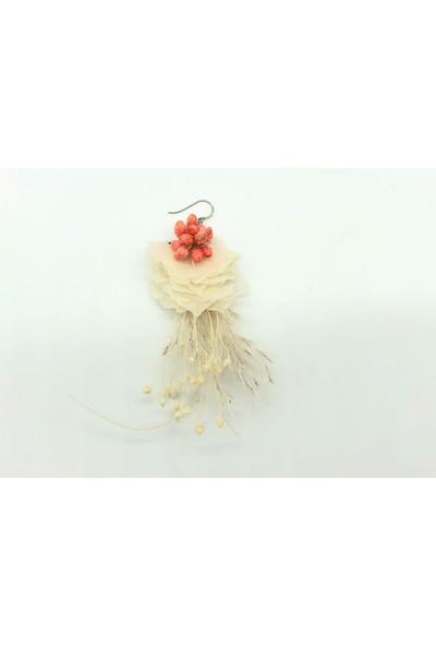 Afloday Bridal Mercan Tasarım Küpe
