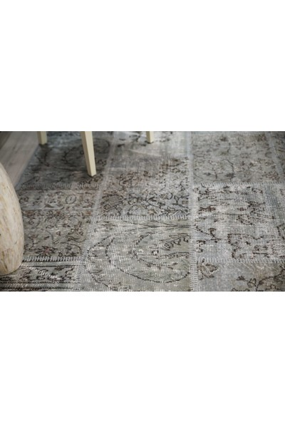 Patchwork El Dokuma Antik Anadolu Halı Tibet