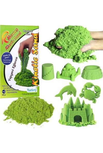 Heroes Star Global Yeşil Renkli Kinetik Kum 500 gr