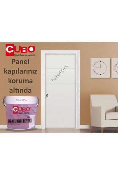 Cubo Panel-Amerikan Kapı Boyası 0.75LT-SU Bazlı-Ipek Mat-Mükemmel Koruma-Silinebilir-Rulo