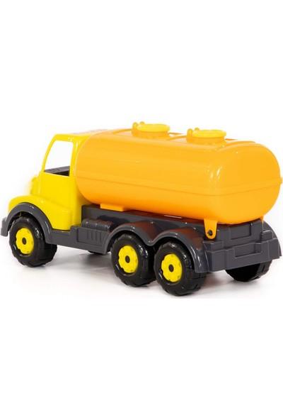 Wd Oyuncak Iş Makineleri: Çift Bölmeli Oyuncak Tanker