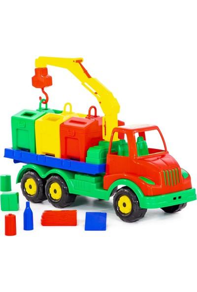 Wd Oyuncak Iş Makineleri: Üç Konteynerli Oyuncak Geri Dönüşüm Aracı