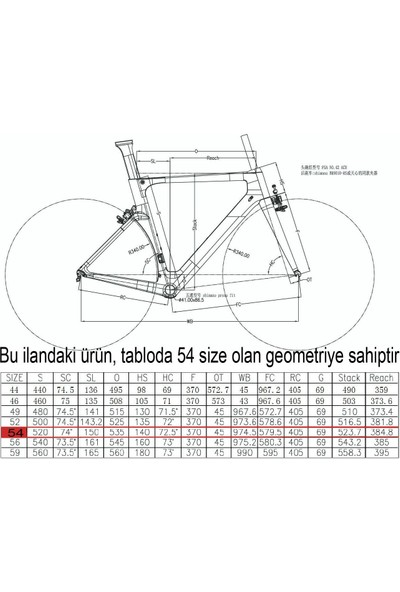 Salcano XRS001 Ucı 105 Set Karbon Yarış Bisikleti 54 Kadro