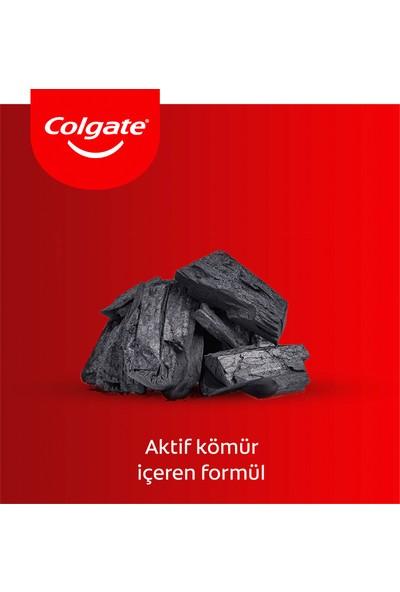 Colgate Total Profesyonel Aktif Kömür Diş Macunu 4 x 75 ml + Diş Fırçası Kabı