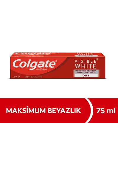 Colgate Visible White Maksimum Beyazlık Diş Macunu 75 ml