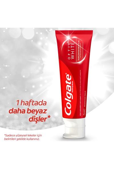 Colgate Optic White Parıldayan Beyazlık Beyazlatıcı Diş Macunu 75 ml 1+1