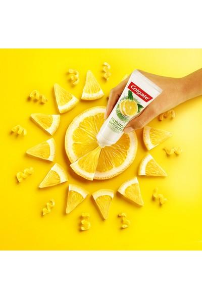 Colgate Natural Extracts Limon Yağı ve Aloe Vera Doğal Özlü Maksimum Ferahlık Diş Macunu 75 ml