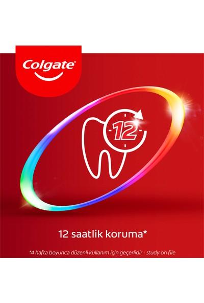 Colgate Total Profesyonel Diş Eti Sağlığı Diş Macunu 75 ml x 4 Adet + Fırça Kabı