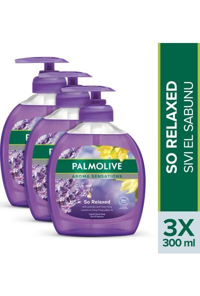 Palmolive Aroma Sensations So Relaxed Ylang Ylang Öz Yağı ve İris Özü ile Sıvı El Sabunu 3 x 300 ml