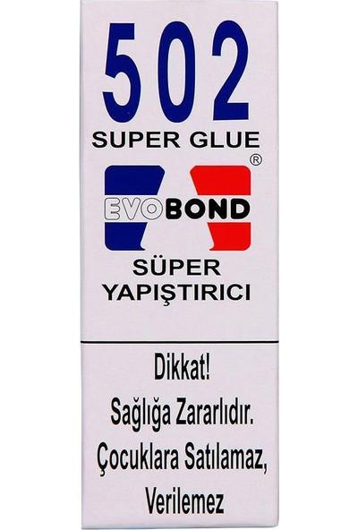 Evobond 502 Süper Japon Yapıştırıcısı 20 gr