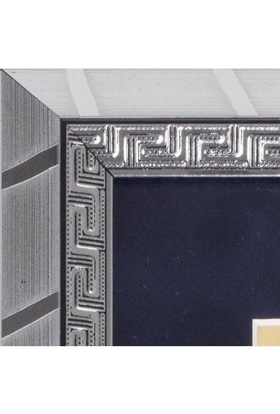 Yavuz Selim Çerçeve Hat Sanatı Özgün Temalı 26X21 cm Gri Çerçeveli Tablo