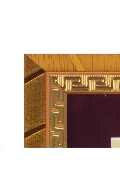 Yavuz Selim Çerçeve Ikra Hat Sanatı Özgün Temalı 24.5X20 cm Tablo