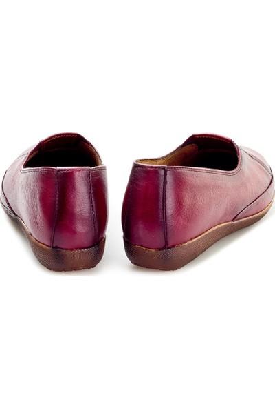 Cabani Kadın Klasik Ayakkabı 866 Bordo