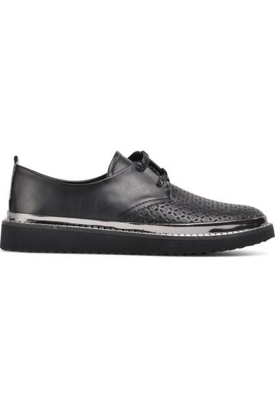 Pabucmarketi Siyah Kadın Günlük Ayakkabı