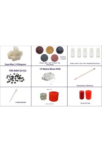 Kimyacınız Mum Yapım Seti 2