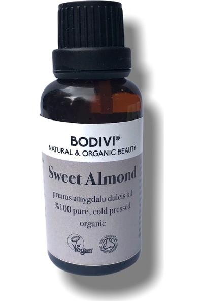 Bodivi Organik Saf Tatlı Badem Yağı 30 ml