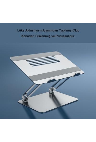"""Triline Full Alüminyum Ayarlanabilir Laptop Standı 10-17"""""""
