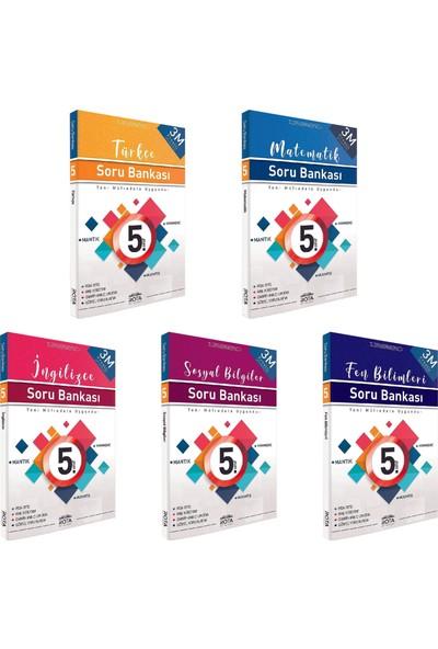 Rty Rota Yayınları 5. Sınıf Soru Bankası Seti 5 Kitap