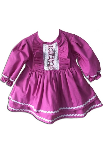 Bertuğ Bebek Mor Menekşe Elbise