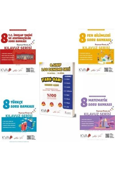 Koray Varol Yayınları 8. Sınıf Kılavuz Serisi Soru Bankası ve Deneme Seti (5 Kitap)