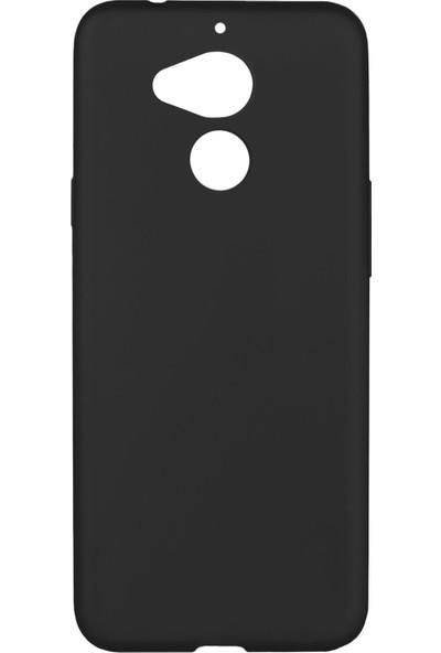 Hesaplı Dünya General Mobile Gm8 Kılıf Mat Renkli Esnek Silikon Siyah Renk Prm