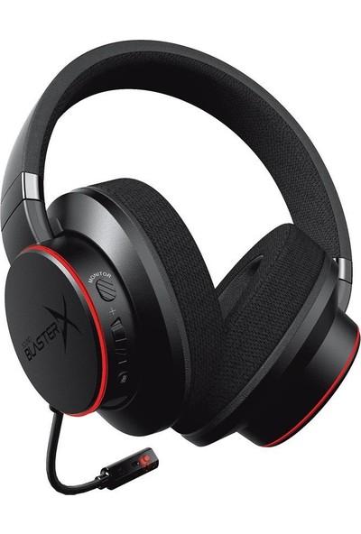 Creative Sound Blasterx H6 USB 7.1 Virtual Surround Sound Rgb Oyuncu Kulaklığı Siyah