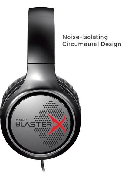 Creative Sound Blasterx H3 Oyuncu Kulaklığı Siyah
