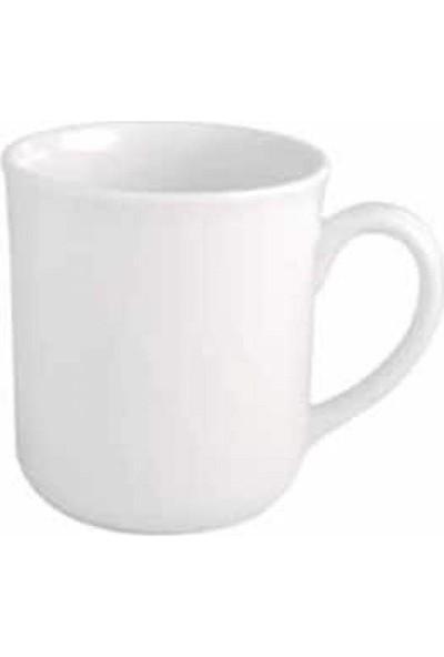 Güral Porselen Bardak Mug Dekorsuz EO01MG