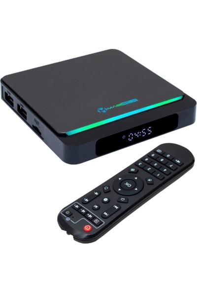 Magbox X3 Pro 4gb Ram 64GB Hafıza Dahılı Wifi Netflıx Androıd 10.0 Os Tv Box