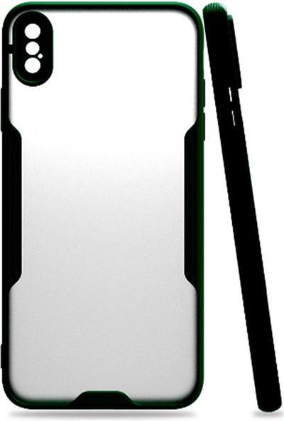 Apple iPhone x / Xs Max Platin Silikon Telefon Kılıfı - Arka Kapak