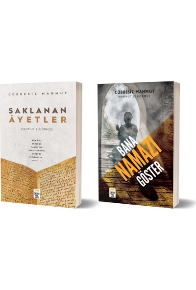 Cübbesiz Mahmut Saklanan Ayetler - Bana Namazı Göster 2 Kitap Set | Mahmut Elgörmüş