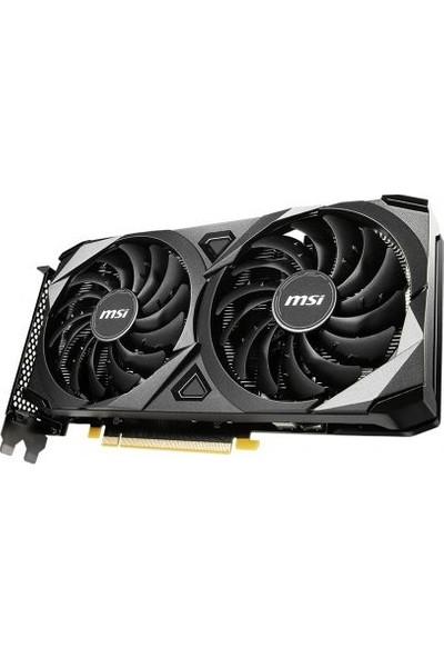 MSI GeForce RTX 3060 Ventus 2x OC 12GB 192Bit GDDR8 PCI-Express X16 Ekran Kartı (GeForce RTX 3060 Ventus 2x 12G OC)