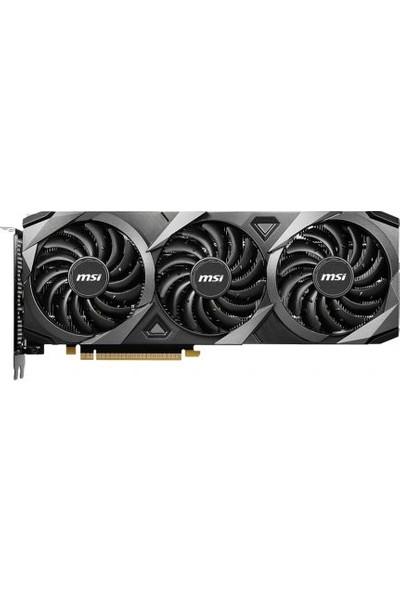 MSI GeForce RTX 3060 Ventus 3x OC 12GB 192Bit GDDR9 PCI-Express X16 Ekran Kartı (GeForce RTX 3060 Ventus 3x 12G OC)