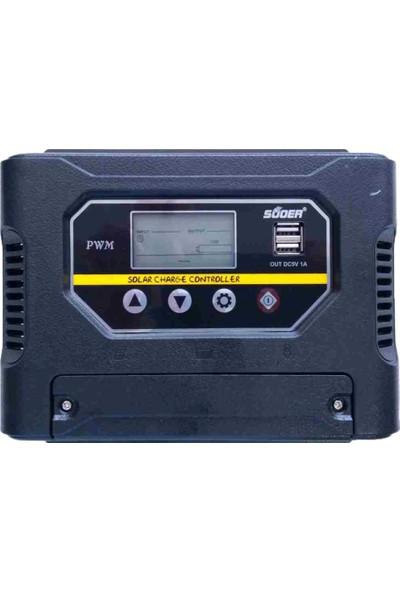 Peace B-2713 12-24 Volt 60 Amper Şarj Kontrol Cihazı