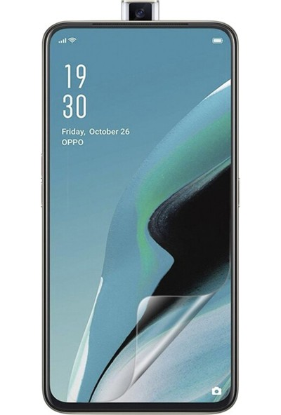 CaseArt Oppo Reno 2z Nano Ekran Koruyucu Kırılmaz Esnek Cam