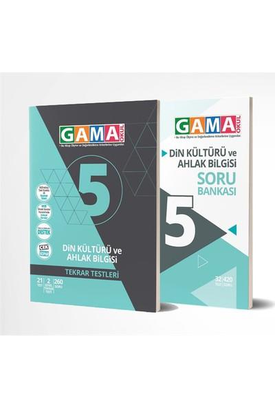 Gama 5. Sınıf Din Kültürü ve Ahlak Bilgisi Soru Bankası Seti
