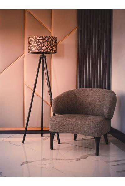 Dekoratif Dekoratifs Tripod Ahşap 3 Ayaklı Lambader Abajur Modern Renkli
