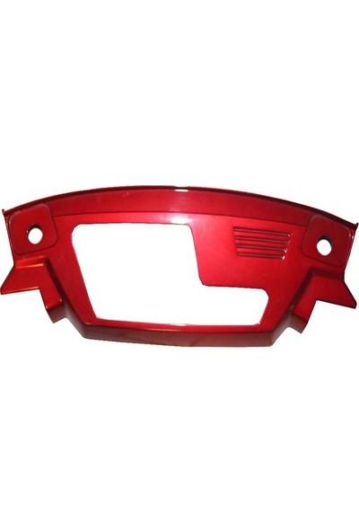 Honda Kinetic Km Saat Çerçevesi Kırmızı Ys