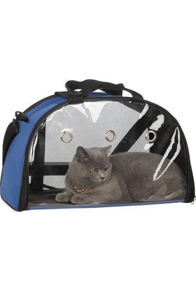 Tropheus Çanta Fosforlu Kedi Köpek Taşıma Seyehat Omuz ve El Çantası Çift Kapaklı