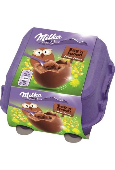 Milka Egg'n'spoon Yumurta Çikolata 136 gr