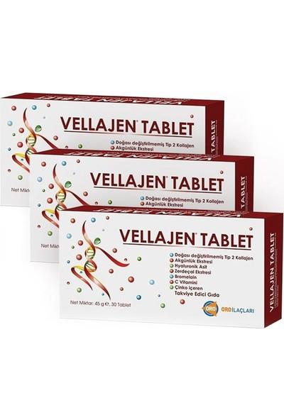 Angelini Vellajen 30 Tablet | 3 Adet