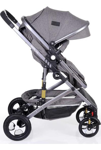Kraft Prag Single Çift Yönlü Bebek Arabası