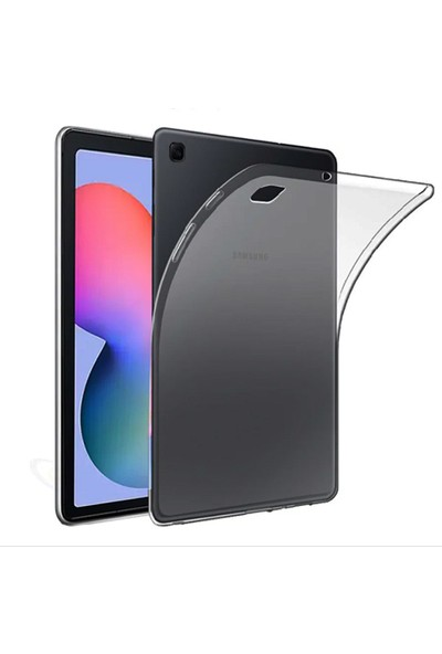 "Coverzone Lenovo Tab M10 TB-X606F 10.3"" Tablet Kılıfı Silikon Şeffaf"