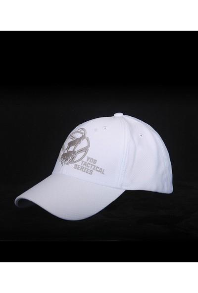 Yds Tactıcal Cap Mountaın Goat -Beyaz (Yüksek Seviye Nefes Alabilen, Rahat Nakış İşlemeli Şapka)